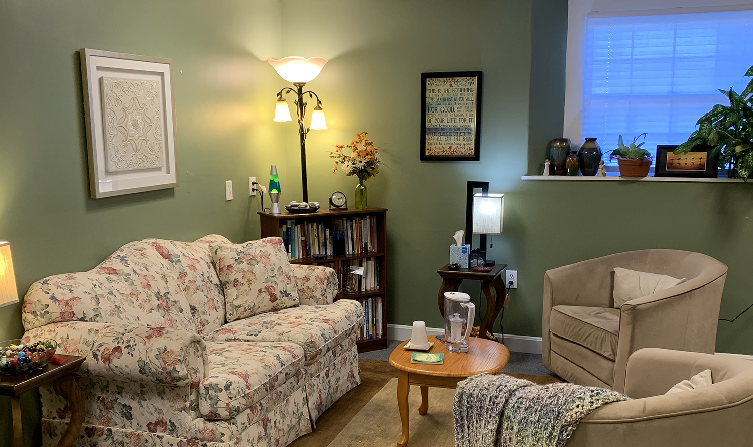 One of the therapy offices.
